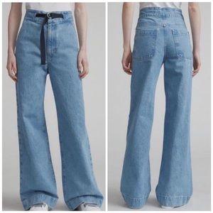Brand new rag and bone massive wide leg jeans